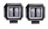 Комплект LED фар 20W (G8015) с ДХО (в комплекте 2шт) квадратная ближнего света