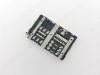 Коннектор для SIM+MMC LG H845