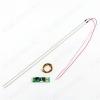 Комплект:модуль подсветки LED TV 446мм(20') 75светодиодов, 2шт + драйвер