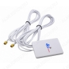 Антенна комнатная OT-GSM13 MIMO для 3G/4G USB-модема 2G/3G/4G/LTE; 900-2700 MHz; 7dB;  2 кабеля 2м с разъемами SMA-штекеры
