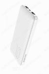 Аккумулятор внешний 10000mAh BT28 Beneficial белый выход: 2*USB; 2.0A