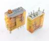 Реле 46.52.8.230.0040 (465282300040)   Тип 10.2 230VAC 2C(DPDT) 8A 29*12.4*32.8mm; блокируемая кнопка проверки + механический индикатор