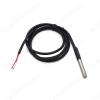 Датчик температуры DS18B20 герметичный, кабель 5 метров Интерфейс: Цифровой; Определяемая температура: -55: 125°С + 0.5%; Корпус: влагозащищенный
