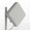 Антенна стационарная PETRA BROAD BAND MIMO2x2 UNIBOX для встраиваемого 4G-роутера 3G/4G/LTE; 1700-2700 MHz; 14dB; гермоввод PG-7; без кабеля; 2 разъема SMA-штекеры в гермобоксе для роутера