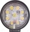 Фара светодиодная 27W круглая (арт. G8054) рабочий свет