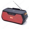 Радиоприемник FP-01-W УКВ 88,0-108.0МГц; Bluetooth; USB, microSD.AUX; Питание от аккумулятора 18650(в комплекте). Зарядка через шнур USB