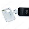 KIT портатативное Зарядное устройство  + флешка 8 Гб MT1099 White
