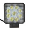 Фара светодиодная 27W квадратная (G8053) направленного света