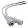 Разъем герметичный 2pin WP L=40 D=21.5mm 2*0.75mm2 IP68; белый, с кабелем