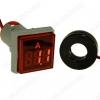 Амперметр цифровой DMS-225 цвет свечения красный (квадратный дисплей)