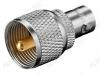 Переходник (245) BNCJ/UHFP BNC гнездо/UHF штекер