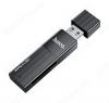 Card Reader HB20, черный USB3.0; поддержка: microSD/SD;