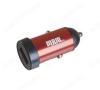 Автомобильное зарядное устройство с выходом USB, 3.0A, красное, MR50A