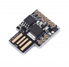 Плата отладочная Digispark Attiny85 (USB-A) ATtiny85, Поддержка Arduino IDE 1.0+ (OSX/Win/Linux); Питание через USB или вневшние источники - 5В или 7-35В