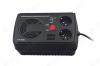 Стабилизатор напряжения U-STR-1000 Courage 1000ВА 1-фазный настольный электронный  (496746) Релейный; Uвх=145-293 + 2В; Uвых=220В+ 10%; высоковольт.защита; время регулирования менее 20мс; подключение нагрузки 2 розетки