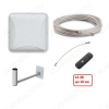 Комплект для усиления 3G/4G интернета DACHA-10F до 10 км Антенна PETRA BB 75/ Кронштейн KS-240/ Кабельная сборка F-F - 10м/ Адаптер антенный F-CRC9/ Модем 4G HUAWEI E3372H-320