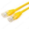 Патч-корд UTP 4 пары кат.5E 1.0м желтый