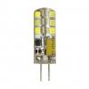Лампа светодиодная 12В/ 03.0Вт/ G4/ 6500K (холодный белый) (L606) / 240Lm (LE010503-0015);