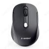 Мышь беспроводная MUSW-420 Black 1600 dpi; 3 кнопки + колесо-кнопка; питание AAA*2 шт. (в комплекте)