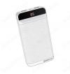 Аккумулятор внешний 20000mAh BT29A Vigor белый выход: 2*USB; 2.0A