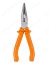 Длинногубцы 160мм прямые Гранит (SQ1009-0201) углеродистая сталь; пластиковые рукоятки