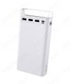 Аккумулятор внешний 30000mAh J62 белый выход: 3*USB; 2.0A; LED-индикация + лампа