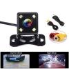 Видеокамера заднего вида TS-CAV20 автомобильная LED подсветка; цветная, PAL, разрешение 600 линий, угол обзора 120°, питание 12V, видеовыход RCA