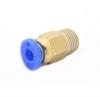 Фитинг хотэнда PC4-01 для трубки 4мм Присоединительная резьба: М9; Внешний диаметр присоединяемой трубки: 4мм