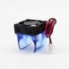 Вентилятор с кронштейном для хотэнда E3D V6 Размеры вентилятора: 30х30х10мм; Питание: 12VDC