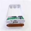 Модуль для создания Power Bank 1А (с корпусом 3S) Максимальный выходной ток: 1А; Светодиодный уровень заряда; Тип батареи: 3*18650 (в комплект не входит)