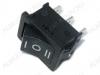 Сетевой выключатель RWB-205 (SWR-43) черный с нейтралью 19,2*13,0mm; 6A/250V; 3 pin