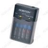Зарядное устройство SMART S100 для 2-4шт NiCd,NiMh R03/AAA или R6/AA; Vзар=1.4V 300-800mA + питание от прикуривателя 12V