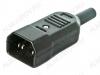 Разъем (402) AC-101 штекер на кабель 250V; 10A