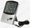 Термометр цифровой TM986 Измерение наружной и внутренней температуры, 2 больших дисплея, память MAX-MIN; (гарантия 6 месяцев)