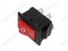 Сетевой выключатель RWB-101 красный 13,0*8,0mm; 3A/250V; 2 pin