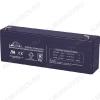 Аккумулятор 12V 2.3Ah DJW12-2.3 свинцово-кислотный; 178*33*61+6