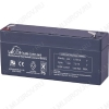 Аккумулятор 6V 3.2Ah DJW6-3.2 свинцово-кислотный; 134*34*60+6
