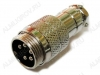 Разъем (411) MIC16-5pin штекер на кабель