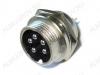 Разъем (412) MIC16-5pin штекер на корпус