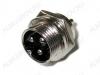 Разъем (409) MIC16-3pin штекер на корпус