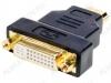 Переходник (219) HDMI штекер/DVI-D гнездо