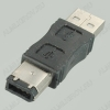 Переходник (503) USB A штекер/IEEE1394 6pin штекер