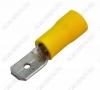 Клемма ножевая (№19) 6.4x0.8 штекер VM5.5-250 изолированная сечение 3.5-5.5 мм2; желтая