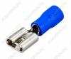 Клемма ножевая (№13) 6.4x0.8 гнездо VF2-250 изолированная сечение 1.5-2.5 мм2; синяя