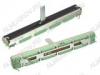 Потенциометр RA6044F-20-15C1-A10K-01G 10K (R20) ход 60 мм, ползунковый, для микшерских пультов и аудиоаппартаруры