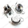 Термостат 110°С KSD301(303) 250V 10A с кнопкой NC нормально - замкнутый, температура срабатывания 110°C