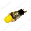 Лампа индикаторная 12V RWE-208 желтая, d=10.0mm