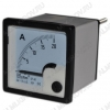 Амперметр 20A DC (48*48) SE-48 (без шунта, рекоменд.шунт 20A 75mV)