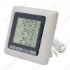 Термометр цифровой TM1011T Измерение наружной и внутренней температуры, часы/таймер; (гарантия 6 месяцев)