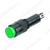 Лампа индикаторная 220V RWE-504 зеленая, d=10.0mm